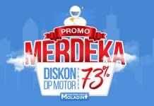 Potongan DP 73% dari Moladin untuk Motor Yamaha