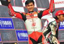 Double Podium Ahwin Sanjaya IRS Seri 3