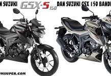 Perbedaan GSX S150 dan Bandit 150