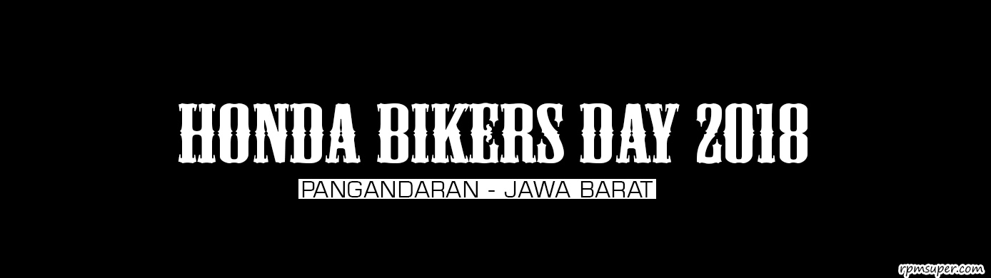 Honda Bikers Day 2018