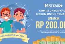 Program UntungBareng Moladin