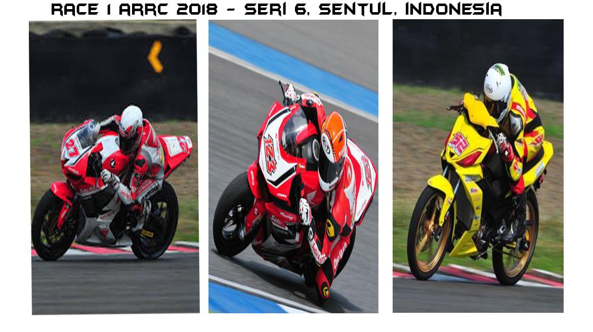 Race 1 Seri Sentul ARRC 2018