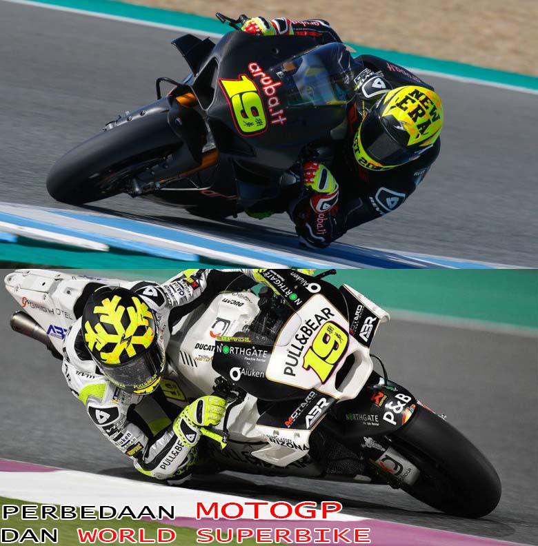 Perbedaan MotoGP dan WSBK
