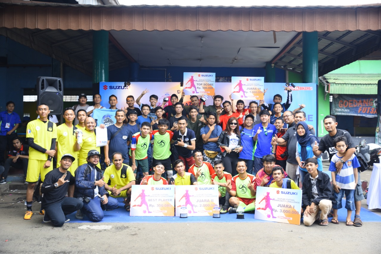 Suzuki Futsal Community Challege 2018