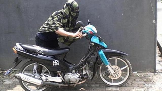 Alat Anti Maling Motor