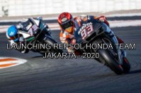 Launching Repsol Honda Team 2020