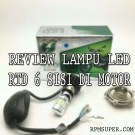 Review Lampu LED RTD 6 Sisi