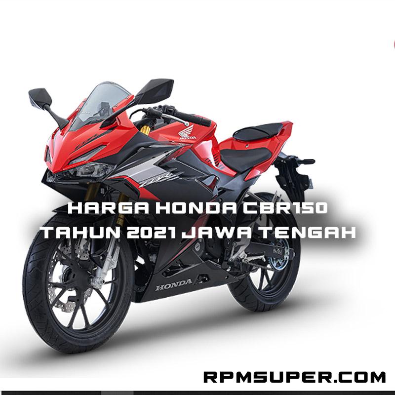 Harga Honda CBR150 2021 Jawa Tengah
