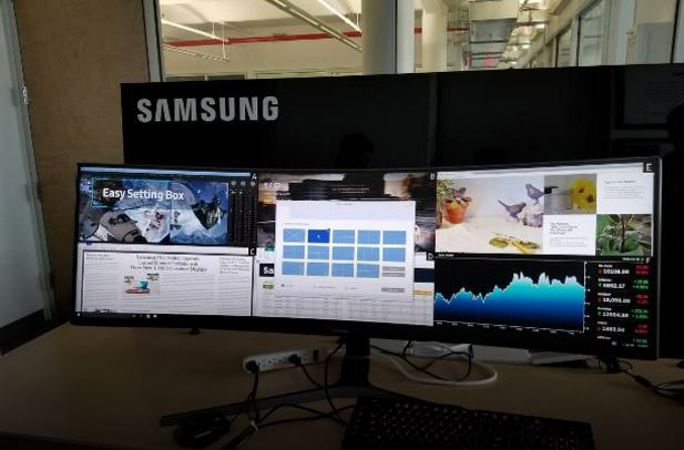 samsung new led CHG90