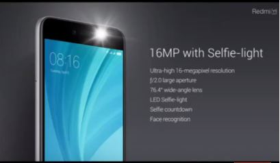 redmi y 1 full specification