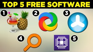 Top 5 Free Software