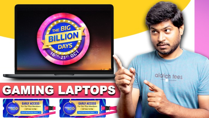 GAMING Laptop: Flipkart Big Billion Days 2020