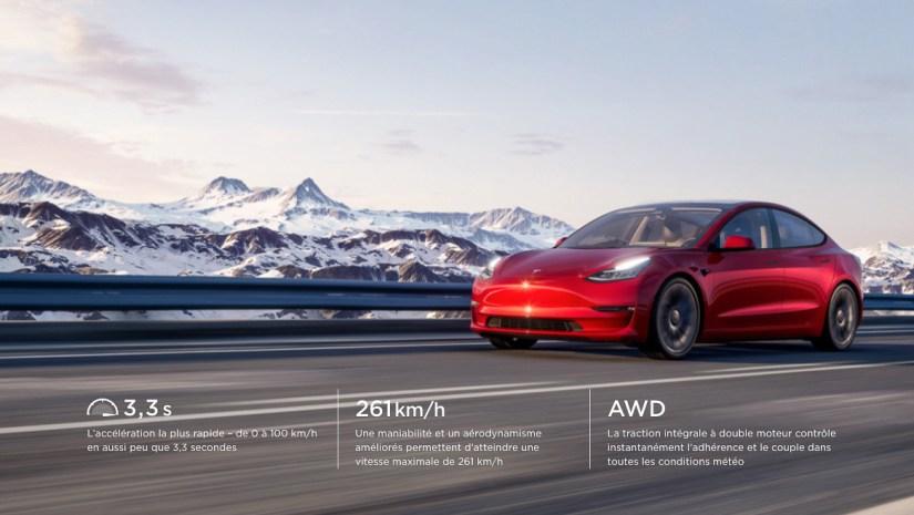Tesla Model 3 screenshot