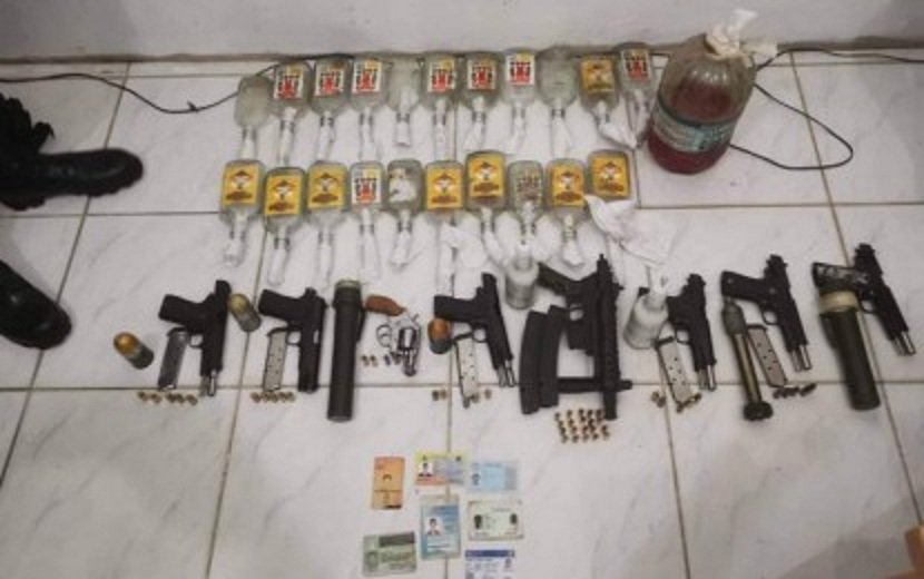8 Suspected Reds Nabbed, Firearms Seized In North Negros
