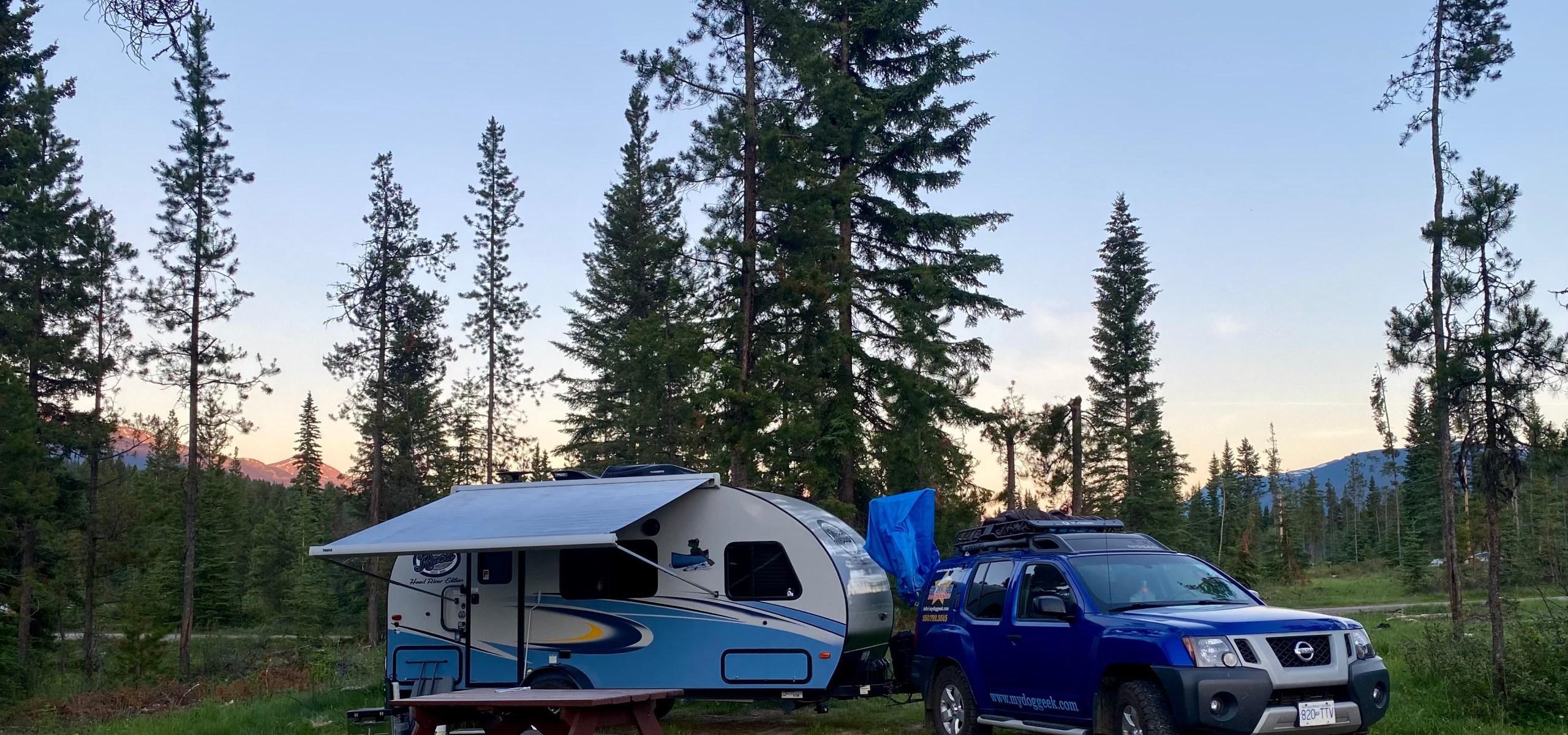 Wapiti Campground Jasper National Park
