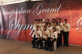 นักดนตรีที่ถูกคัดสรรไปรวมวง samutprakan grand symphonic