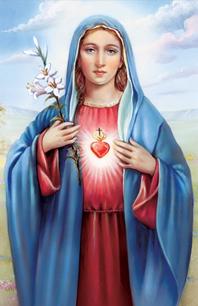 The Pure Heart Of Mary Damsel Of The Faith