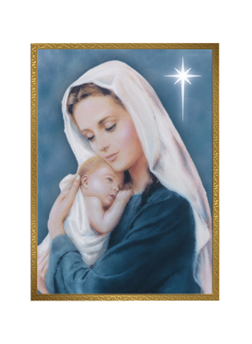 Cards Madonna And Child