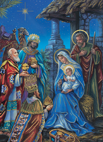 Cards Adoration Of The Magi