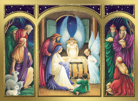 Cards Adoration Of The Christ Child