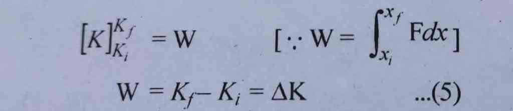 कार्य ऊर्जा प्रमेय क्या है? What is work energy theorem claas 11 in hindi