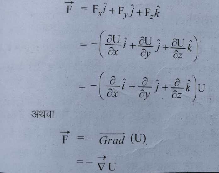 स्थितिज ऊर्जा किसे कहते हैं? परिभाषा, मात्रक, सूत्र Potential energy in hindi