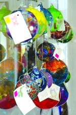 Glass Balls in Gallery