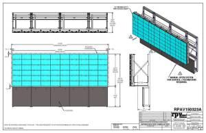 Pepsi Conference Room Screen blueprint