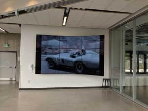 Humber Barrett Centre for technology Innovation display