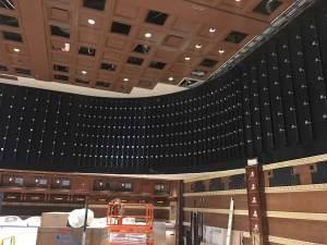 Wynn Sportbook video wall install