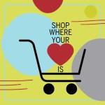 Rpgers Park Business Alliance Shop Where Your Hear is Logo