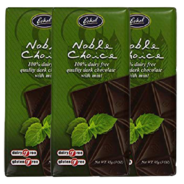 Eskel Peppermint Dark Chocolate Block
