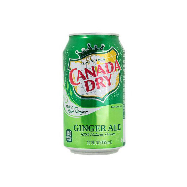 Canada Dry Ginger Can