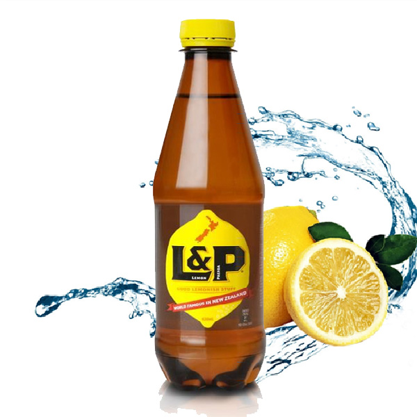 L&P Lemon and Paeroa Soft Drink – From NZ