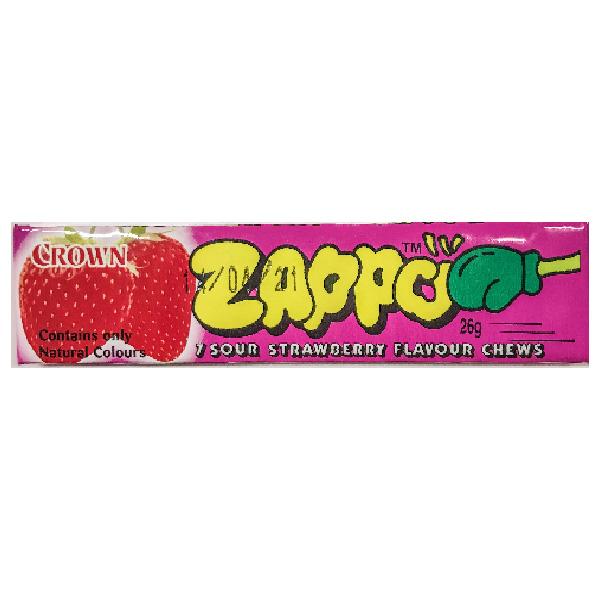 Zappo Sour Strawberry Chews