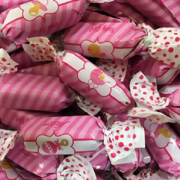 Pink Wrapped Milk Chocolate