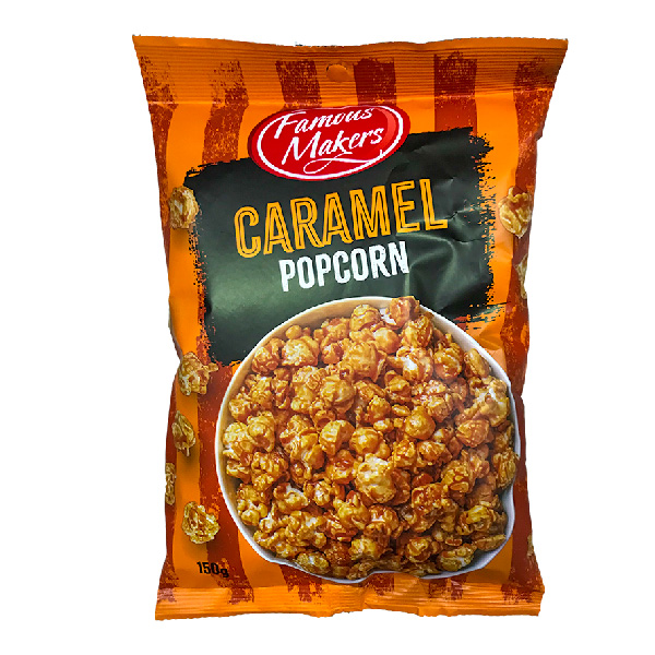 Famous Makers Caramel Popcorn