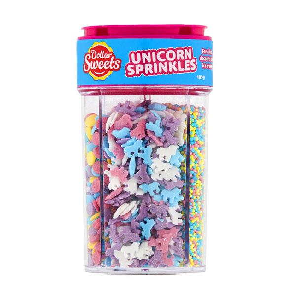 Dollar Sweets – Unicorn Sprinkles Jar