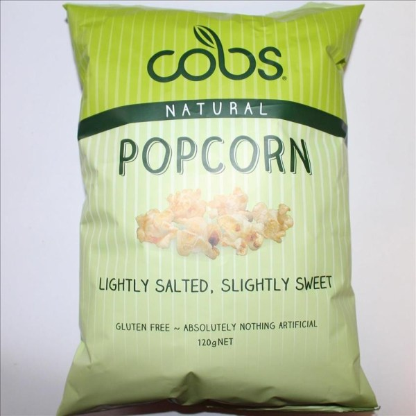 Cobs Popcorn Lightly Salted 120g