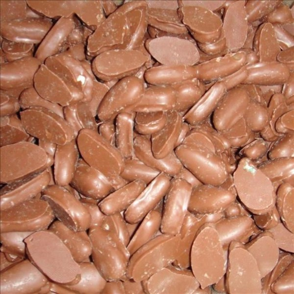 Milk Chocolate Coated  Mint Leaves