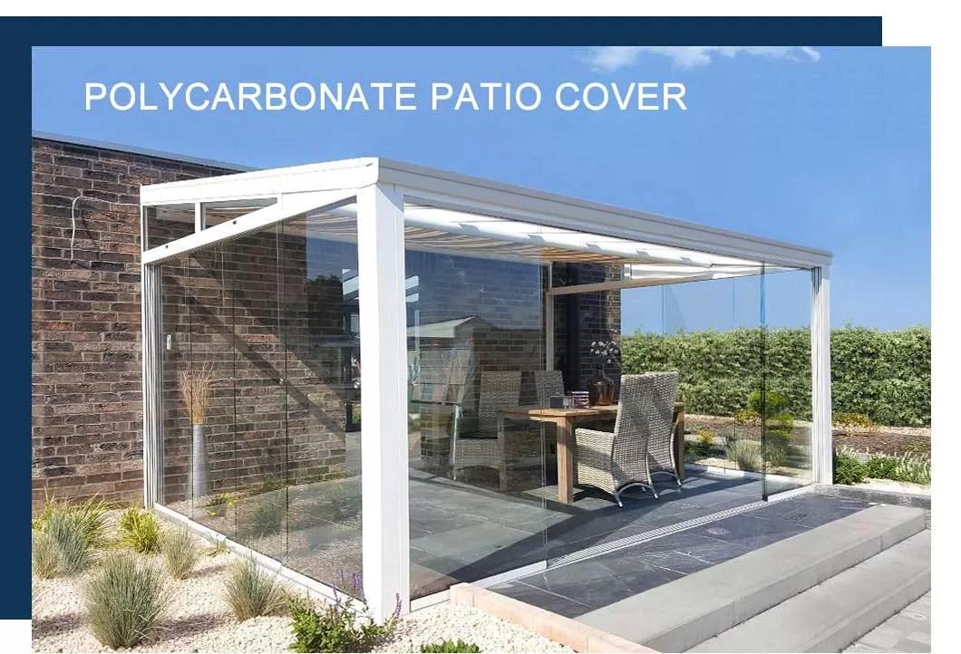 aluminum pergola louvered roof