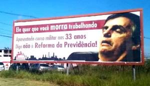 """É preciso organizar o combate às """"reformas"""" de Bolsonaro!"""