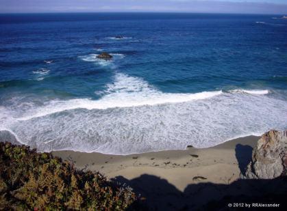 Water Fan, Big Sur, California
