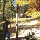 R-Ranch offers a disc golf course to those of you who are masters of frisbee golf.