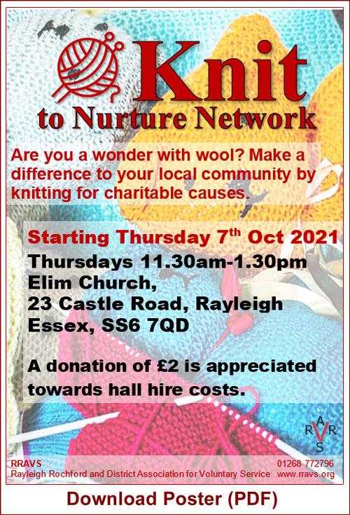 Knit to Nurture poster image