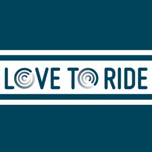 Love to ride logo image