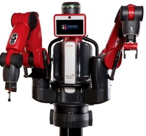 Photo of the Baxter research robot.