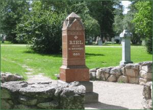 Gravesite of Louis Riel