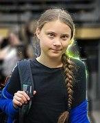 Greta Thunberg in Global Strike for Climate 2019