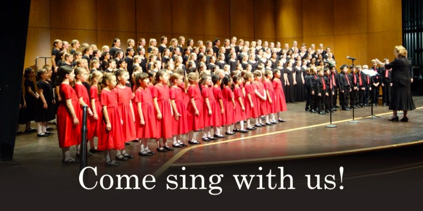 Come sing with us! - Red Rose Children's Choir and Lake County Boys Choir